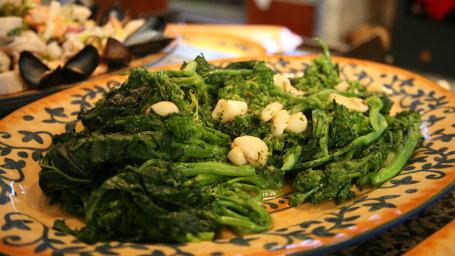 Lidia Bastianich's Broccoli Rabe