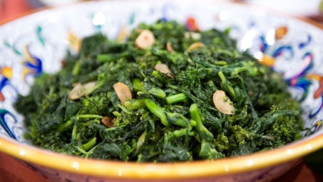Lidia Bastianich's Broccoli Rabe with Garlic and Olive Oil