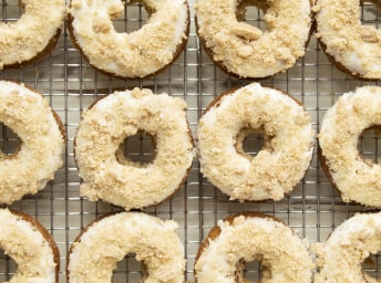 Baked Brown-Butter Banana Bread Doughnuts