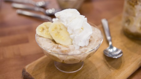 Healthier Banana Cream Pie Pudding