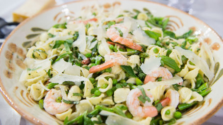 Spring Pasta Salad with Shrimp