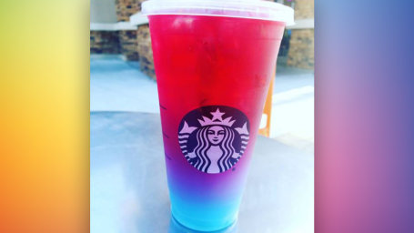 Starbucks unicorn lemonade