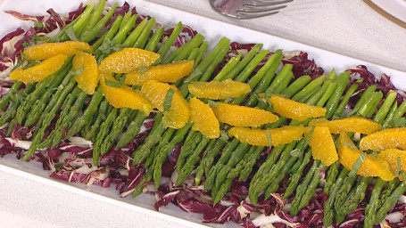 Asparagus Salad with Orange Vinaigrette
