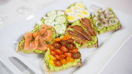 Avocado toast bar