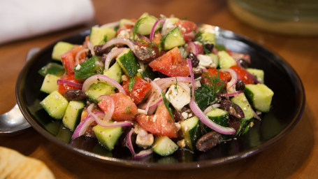 Catherine de Orio's village salad