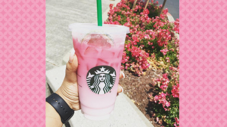 Pink Ombre drink