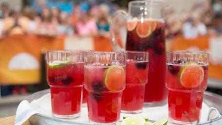 Martha Stewart's Sparkling Cherry Limeade