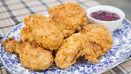 Erin French's Cornflake Fried Chicken