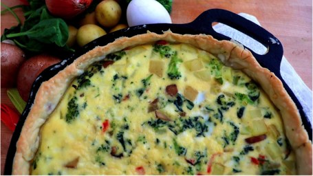 Baby Vegetable Quiche