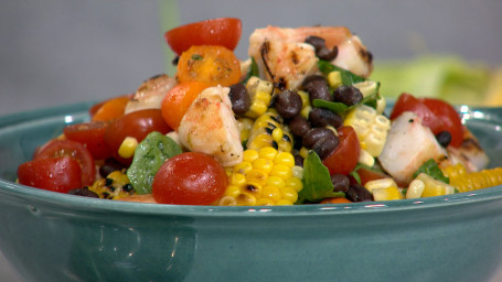 Al Roker's Grilled Shrimp and Corn Salad