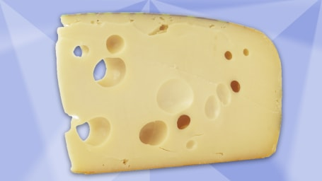 Researchers found Swiss cheese might be a superfood.