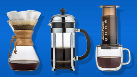 Home coffee brewers