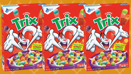 Trix is coming back with artificial flavors and colors