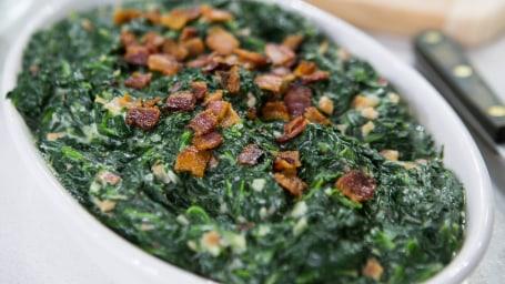 Al Roker's Creamed Spinach