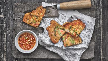 Seafood Pancakes (Haemul Pajeon)