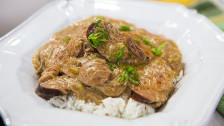 Isaac Toups' Chicken and Andouille Sausage Gumbo