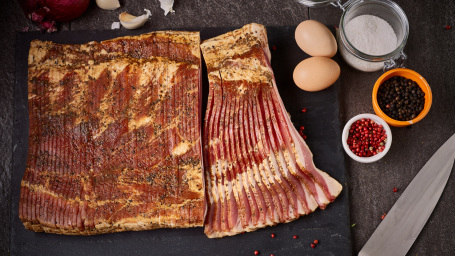 Tender Belly's Signature Blend Dry Cured Bacon