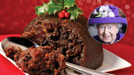 The Queen is reportedly giving out cheaper Christmas puddings this year, from UK supermarket Tesco.