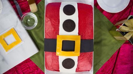 Anna Helm-Baxter's Santa Cake