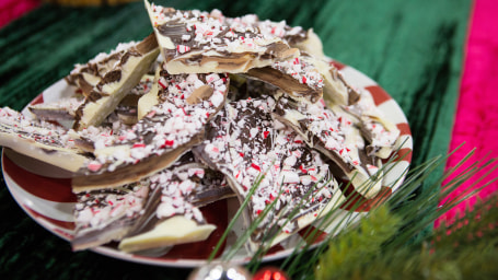 Zane Holmquist's Marbled Peppermint Bark