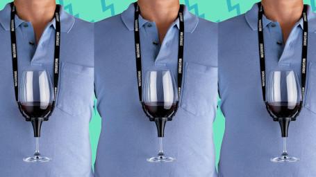 Wine Enthusiasts Wine Holder Necklace