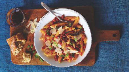 Spicy Penne Arrabbiata