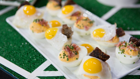 Brian Duffy's Deviled Dippy Eggs