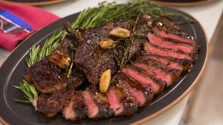 Adam Richman's Grilled Steak