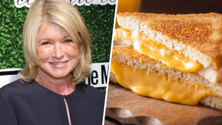 Image: Martha Stewart / Grilled Cheese