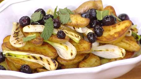 Stephanie Izard's Grilled Potato Salad
