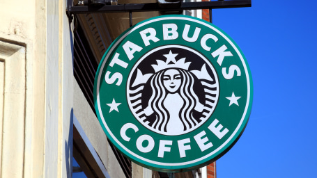 Starbucks Coffee Logo Sign