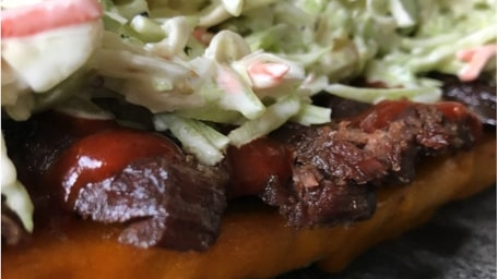 BBQ Brisket Sandwiches with Creamy Slaw