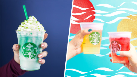 Starbucks, Lower Calorie, Frappuccino