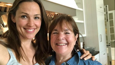 Jennifer Garner with Ina Garten