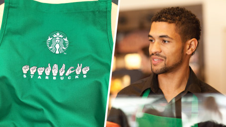 Starbucks employees will speak American Sign Language.