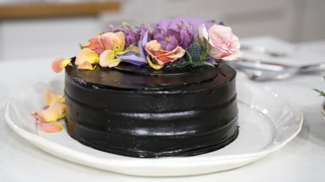 Candice Kumai's Chocolate Matcha Cake