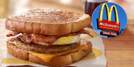 McDonald's is testing McGriddles French toast breakfast sandwich in Minnesota