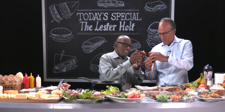 COLD CUTS with Al Roker feat. Lester Holt