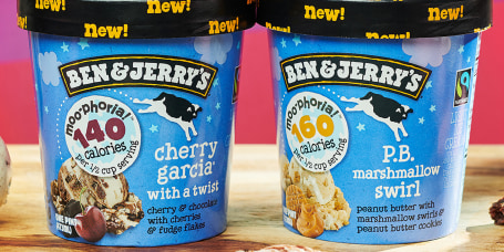 Ben & Jerry's new light ice creams
