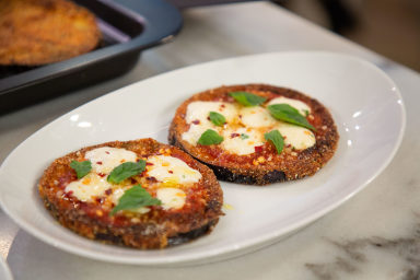 Ryan Scott's one pan eggplant pizza on Megyn Kelly TODAY