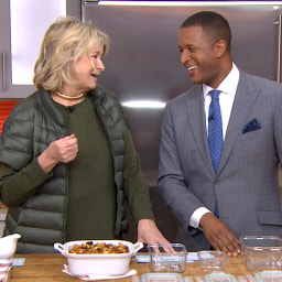 Martha Stewart T-giving safety tips