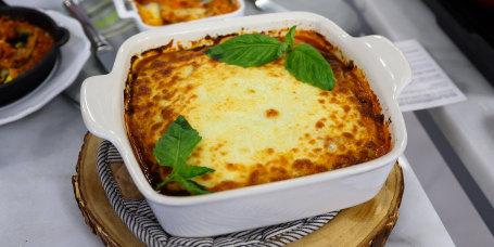 Nealy Fischer's Noodleless Lasagna + Lasagna Shakshuka + Lasagna Soup