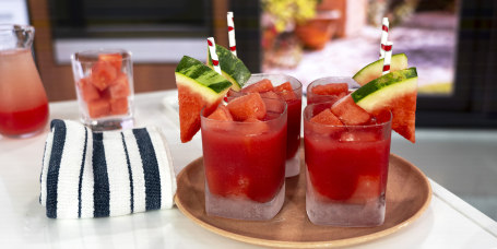 Joy Bauer's Mexican Corn on the Cob + Watermelon Margaritas + Chicken Skewers