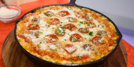 Chef Teach's Truffle Mac & Cheese + Pizza Mac & Cheese