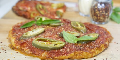 JEFF MAURO: Slow-Cooker Deep Dish Pizza + Garbage Salad