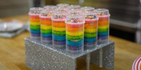 AMIRAH KASSEM: Unicorn Cake + Cup Cakes + Push Pops