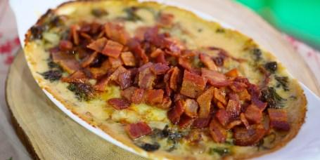MARIO CARBONE: Creamed Escarole + Rib Roast Pizzaiola