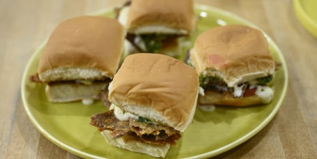 Chloe Coscarelli Guac Burgers + Parm Sliders + Holiday Nut Roast