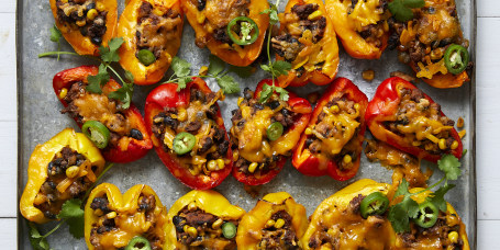 Joy Bauer's Loaded Bell Pepper Nachos