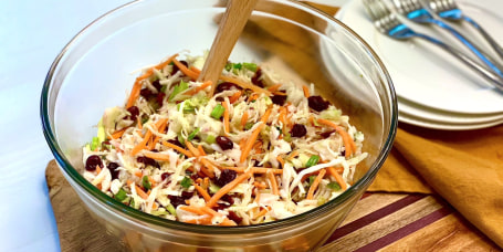 Joy Bauer's Apple Cider Coleslaw
